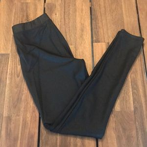 Express  Black Dress Leggings S